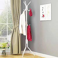 Вешалка напольная для одежды 175 см Белая Vivendi
