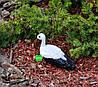 Садовая фигура Семья садовых аистов в гнезде №43 керамика, фото 5