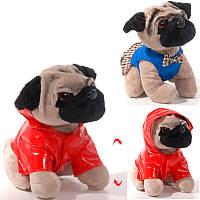Мягкая детская игрушка Собачка Бакси в куртке Английский бульдог Копица 25431-3