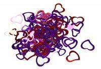 Конфетти Сердца цветные 25г 260216-063