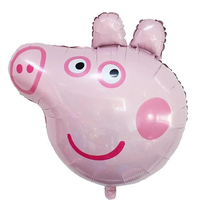 Фол шар фигура Свинка Пеппа голова (Китай)