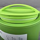 Термо ланч-бокс Aladdin Bento (0.6л), зеленый, фото 5