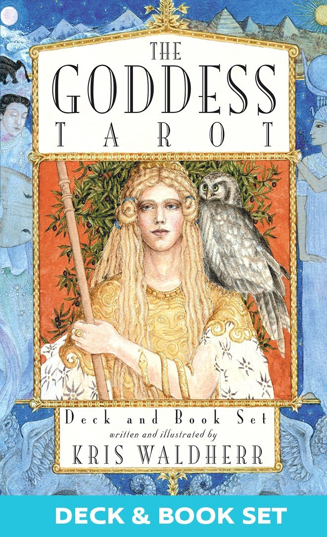 The Goddess Tarot Deck - Book Set/ Таро Богинь