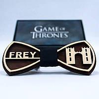 Эксклюзивный галстук-бабочка из дерева KRAGO Game of Thrones Frey KRG-01010, КОД: 187172