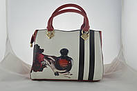 Женская сумка с рисунком из эко кожи, фото 1