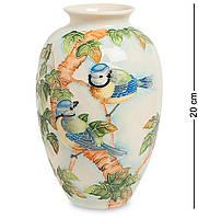 Ваза Pavone Синяя птица 20 см 106239, КОД: 186605