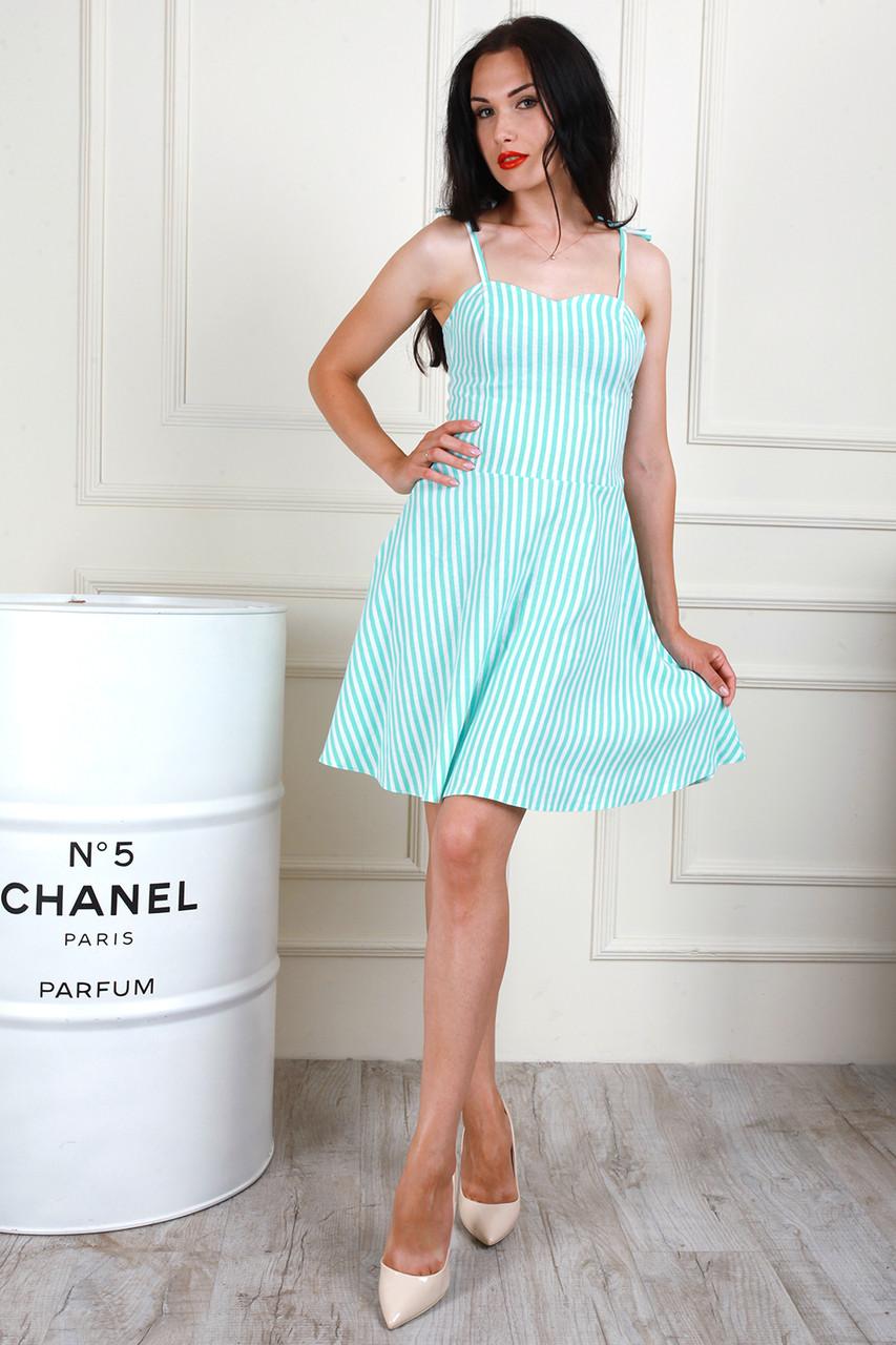 Платье 705-04 цвет мятный