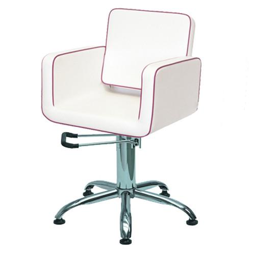 Кресло парикмахерское JUSTINE на гидравлическом подъемнике, фото 1