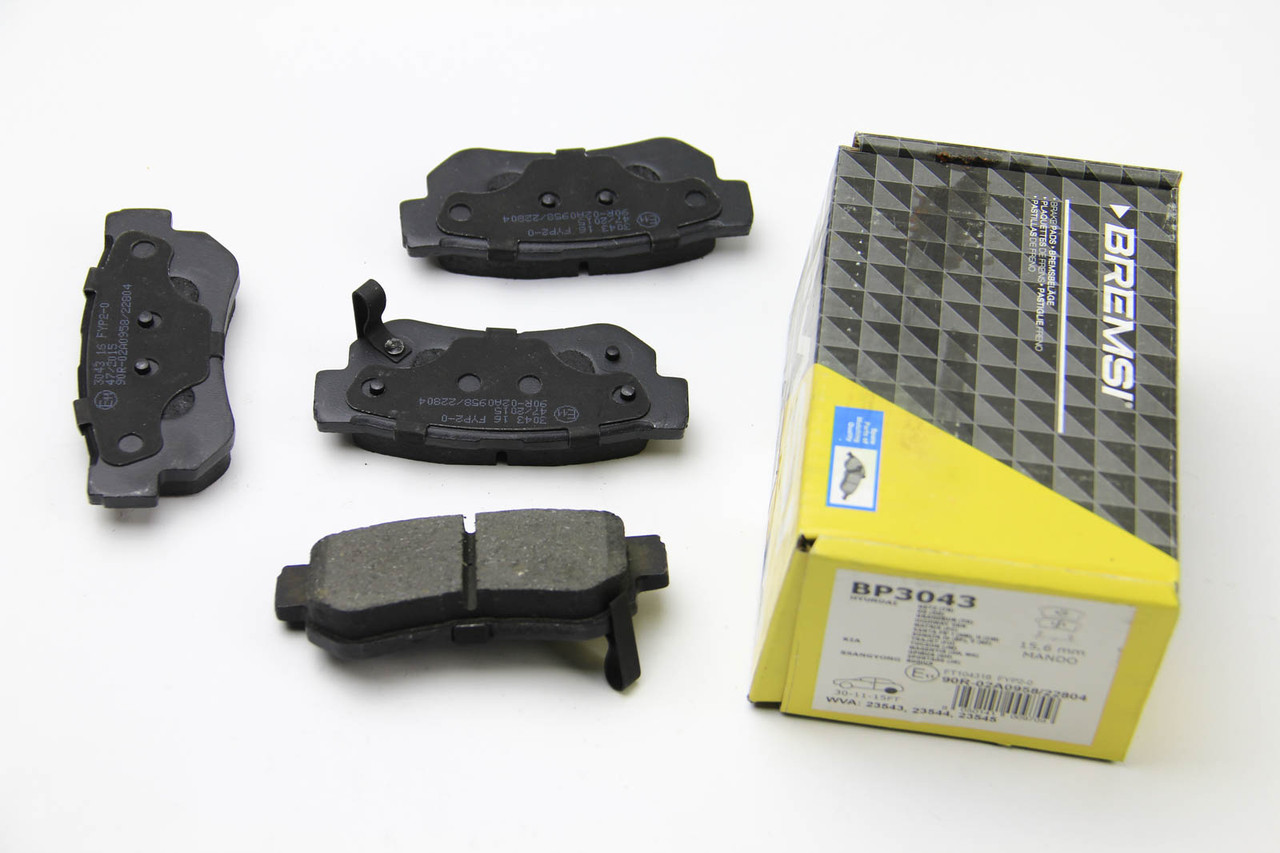 Колодки тормозные задние Kia Sportage 2004-