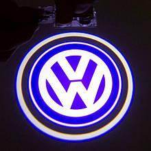 Подсветка двери Volkswagen на батарейках
