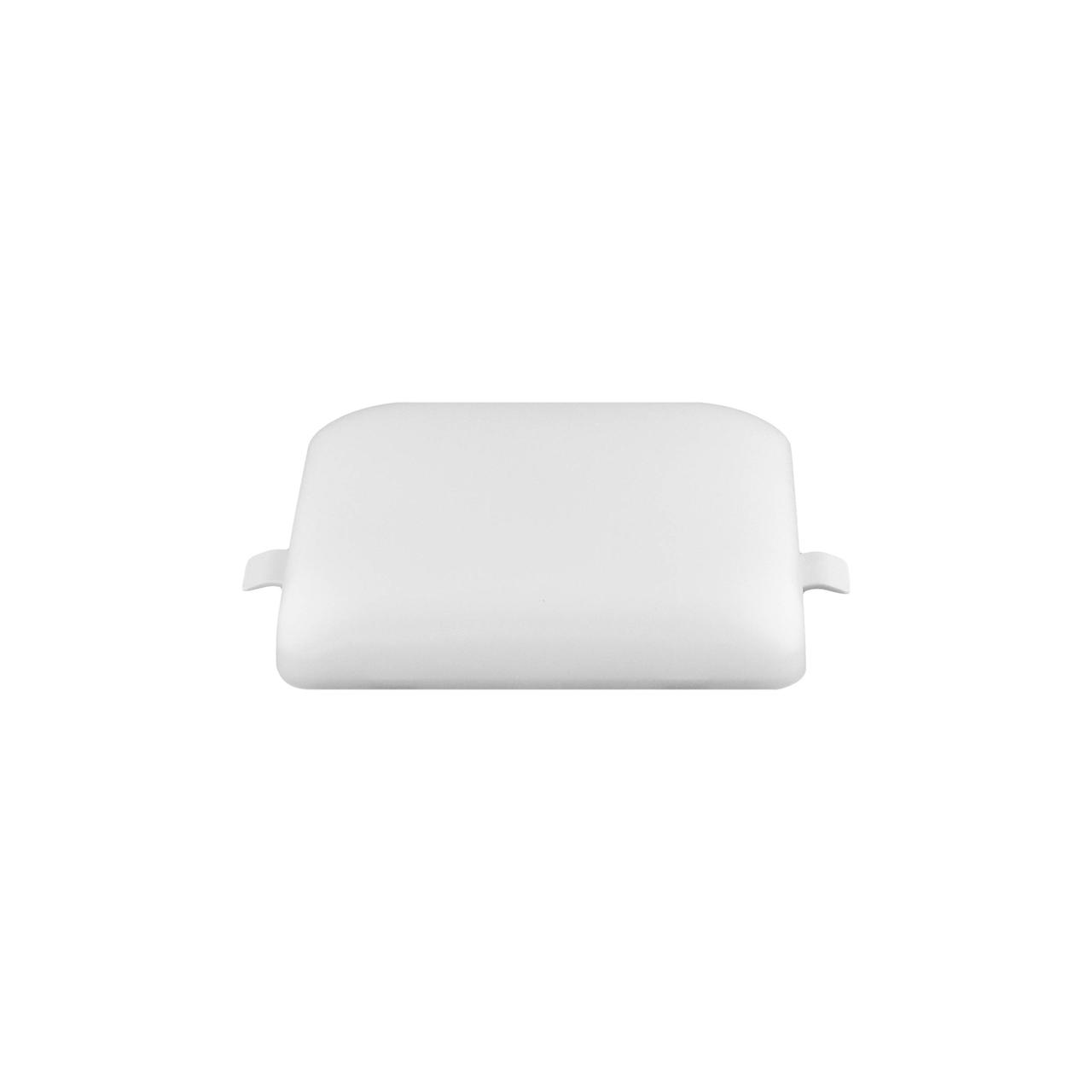 Led світильник накладної таблетка квадрат білий PC0018-32Q SQ 18W 6000K