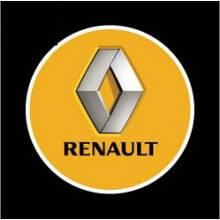 Підсвічування двері Renault на батарейках
