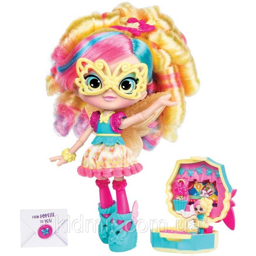 Кукла Шопкинс Поппи Корн Маленькие секреты Маскарад Shopkins Shoppies Popette