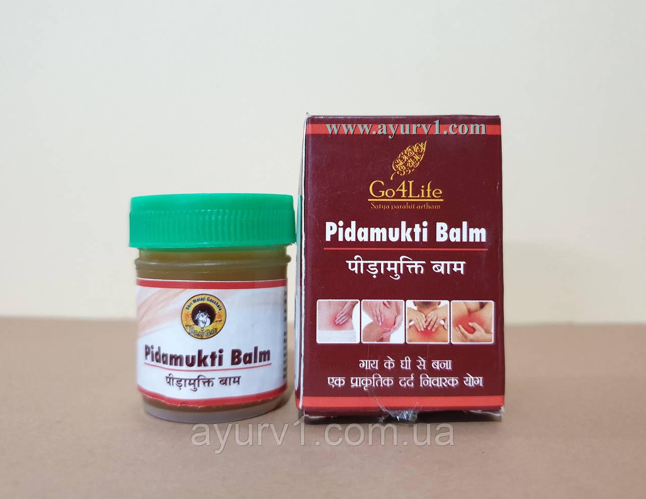 Мазь от боли, защемление, артроз Гомата, Pidamukti Balm Go4Life, 20 г.