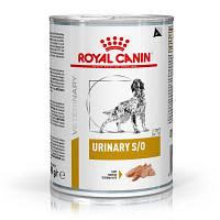 Royal Canin Urinary S/O (Роял Канин Уринари) 410г*12шт - консервы для собак при мочекаменной болезни