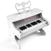 Детское обучающее пианино с Bluetooth iDance My Piano MP 1000 White (MYPIANO1000WH)