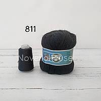 Пух норки № 811 черный