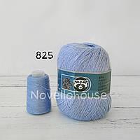 Пух норки № 825 светло голубой