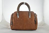 Коричневая сумка из эко кожи, фото 1
