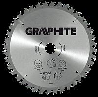 Диск 57H658 GRAPHITE 160 мм х 30 мм 24 зубца