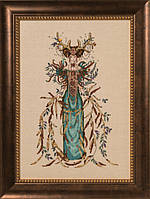 Схема Mirabilia Designs Cathedral Woods Goddess/Богиня леса MD164