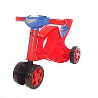 Беговел музыкальный Doloni Toys Красный 0137 01, КОД: 1318572