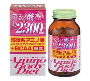 Японські ORIHIRO амінокислоти (пептиди із сої) 2300 мг, 300 таб на 25 днів