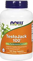 Тестобустер Now TestoJack 100 120 caps Тестостероновый бустер