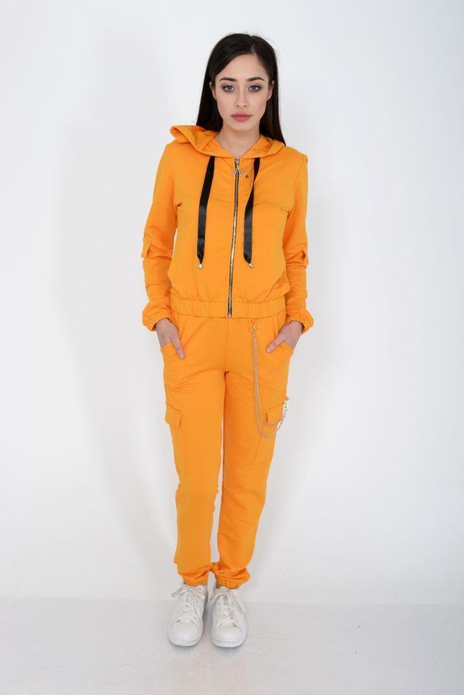 Спорт костюм женский цвет Горчичный