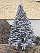 Буковельська засніжена 1.8 м лита ялинка штучна ялинка святкова зі снігом, фото 4