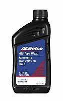 Трансмиссионное масло ACDelco ATF DEXRON-III 0,946л