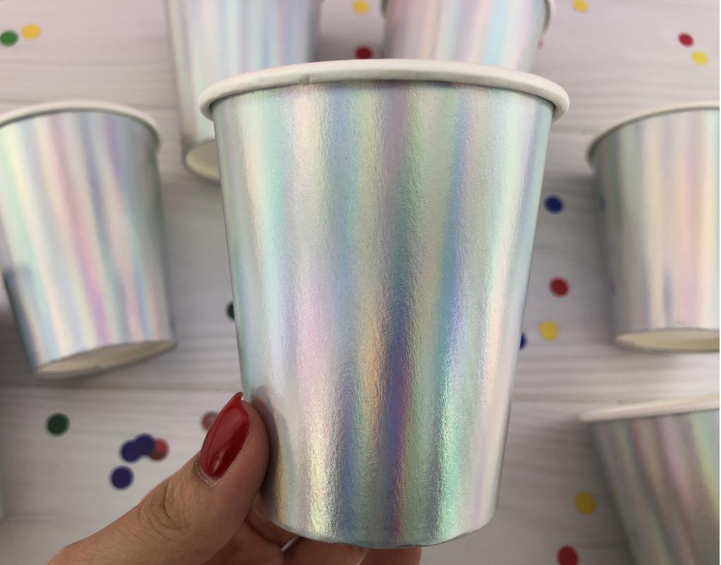 Бумажные стаканчики Хамелеон, 20 шт
