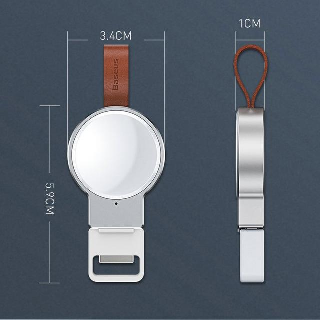 Беспроводное зарядное устройство для Apple Watch Baseus Wireless Charger Dotter WXYDIW02-01 Черное WXYDIW02-02 Белое