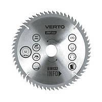 Диск 61H123 Verto 185 мм х 30 мм 48 зубцов по дереву
