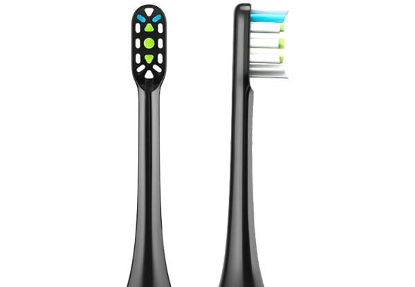 Xiaomi Soocas X1/X3/X5 Black Насадки для звуковой зубной щетки, 2 штуки