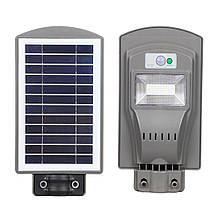 Фонарь на солнечной батарее 20W на солнечной батарее с датчиком движения. Уличный светильник на столб, фото 3