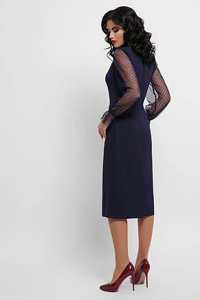 GLEM плаття футляр з сіткою Лук'яна д/р, фото 3