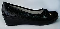 Туфли девочка танкетка