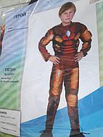 Для мальчика костюм маскарадный на утренник Тони Старк Железный человек герой Марвел!!!!
