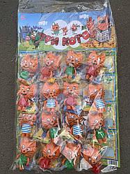 """Фігурки """"Три кота"""", LY0255 (960шт/2) 3 види, розмір 13 см фігурки, на планшетці 16 шт, в пак."""