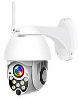Уличная IP Wi-Fi камера Наблюдения Видеонаблюдения Купольная Поворотная, Влагозащ IP66, YooSee, Модель: PTZ-X4
