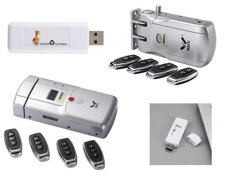 WiFi адаптер (не замок) для Скрытых Электро-замков - Невидимок 433 МГц WAFU, Моделей: WF-010, WF-011