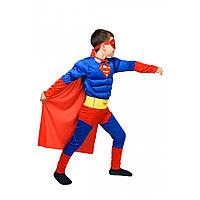 Детский костюм Супер мена. Карнавальный костюм супер героя. Супер мен!!!