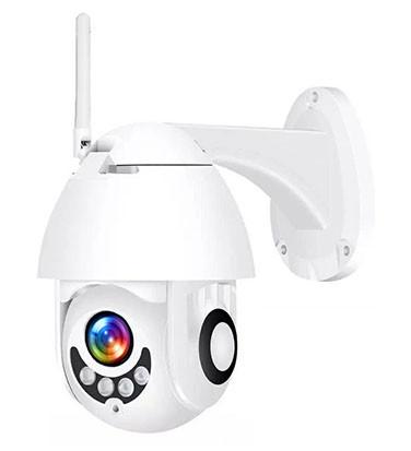 """Уличная IP Wi-Fi камера Наблюдения Видеонаблюдения Купольная Поворотная """"PTZ-01"""" IP66"""