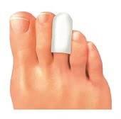 Гелевые колпачки на пальцы ноги супинатор Footmate Toe Supporter