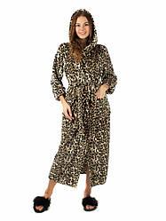 Махровый халат женский с повязкой длинный размеры 42-44 46-48 50-52 есть цвета Новинка