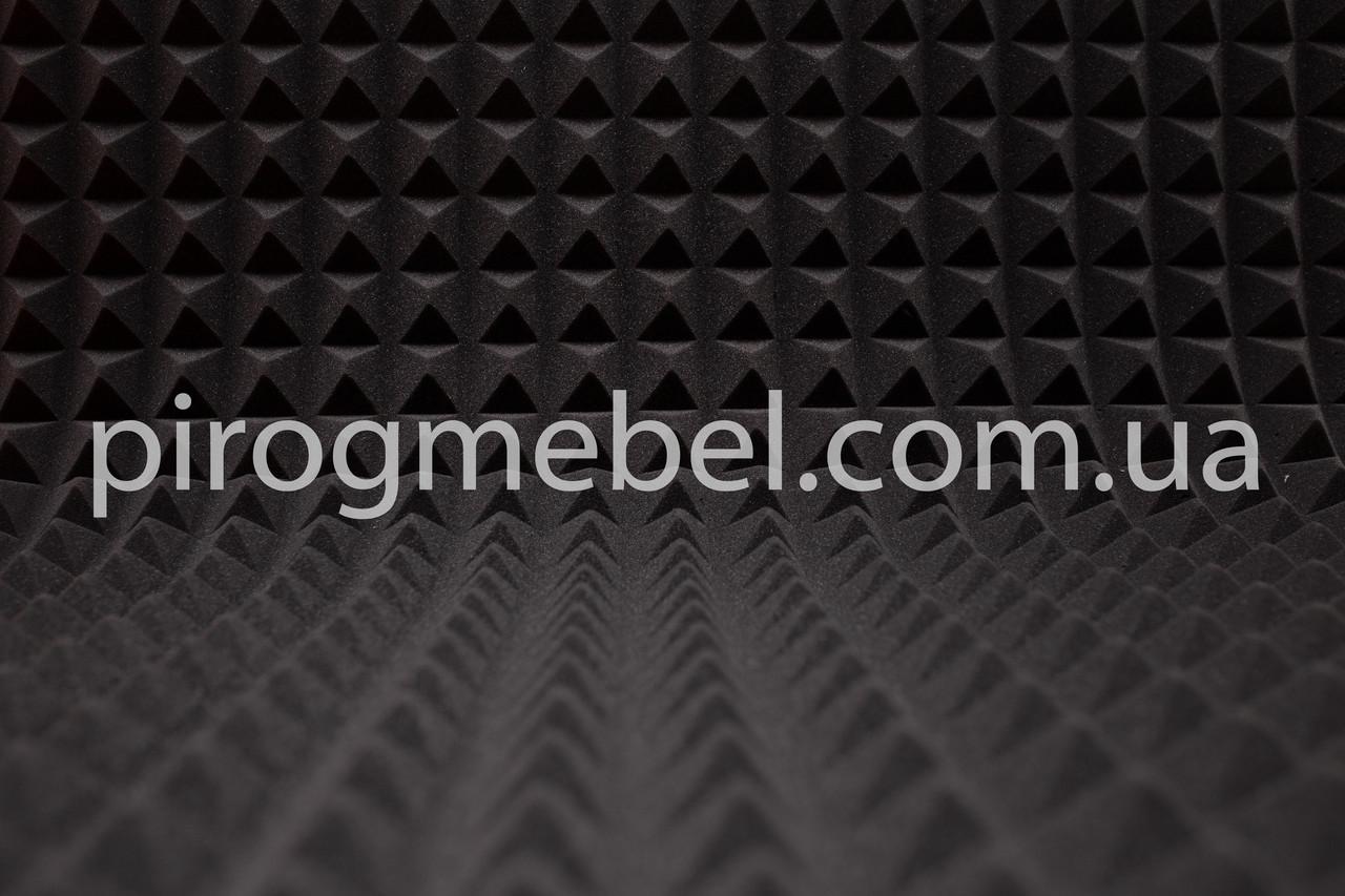 Акустические панели  из поролона  1 м *1 м , 50 мм