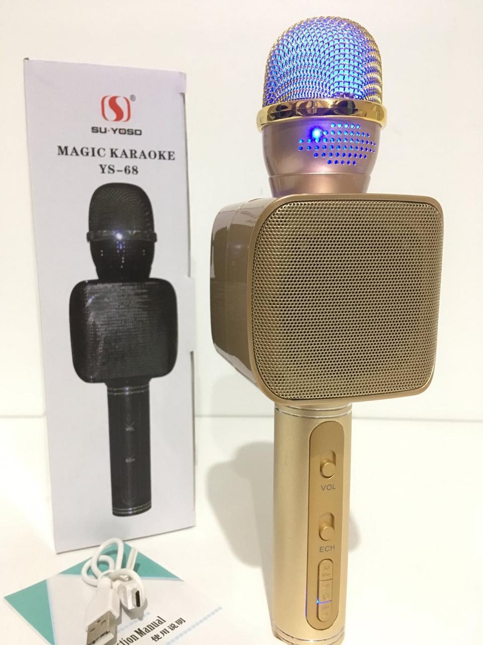 Радіомікрофон+ караоке YS-68 (50 шт/ящ)
