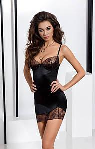 Сексуальное платье - BRIDA CHEMISE black, цвет: черный