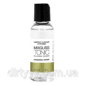Лубрикант на силиконовой основе MixGliss TONIC - GINGEMBRE, 50ml